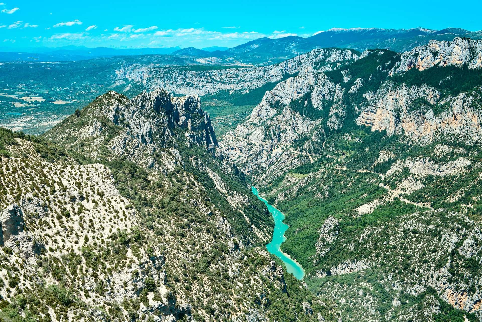 sightseeing tour verdon canyon gorge