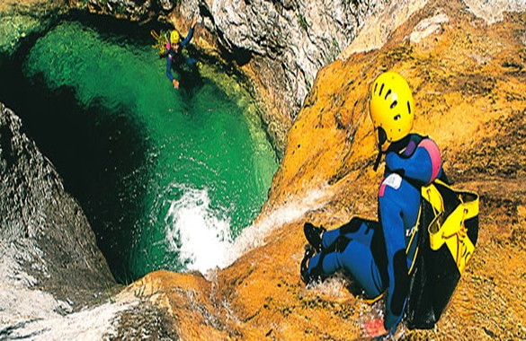 Canyoning a Nizza