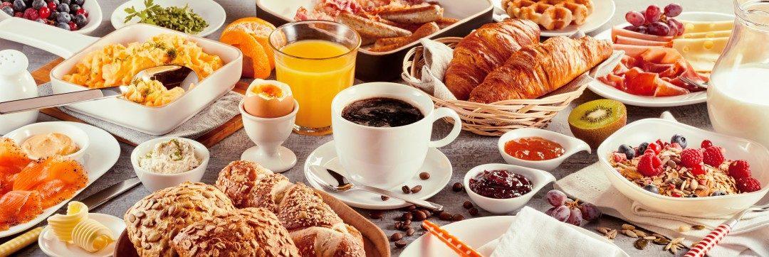 Breakfast in Nice France