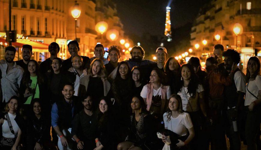 wo man in Paris nachts ausgeht