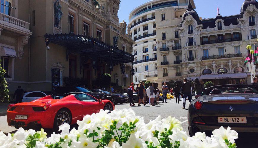Reise von Nizza nach Monaco