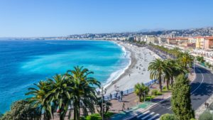 Nice france coastline french riviera