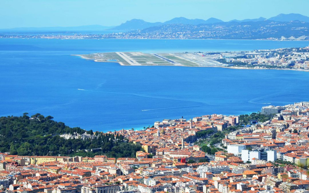 From Nice airport to Cannes