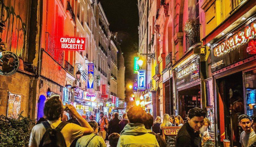 Paris night walking tour