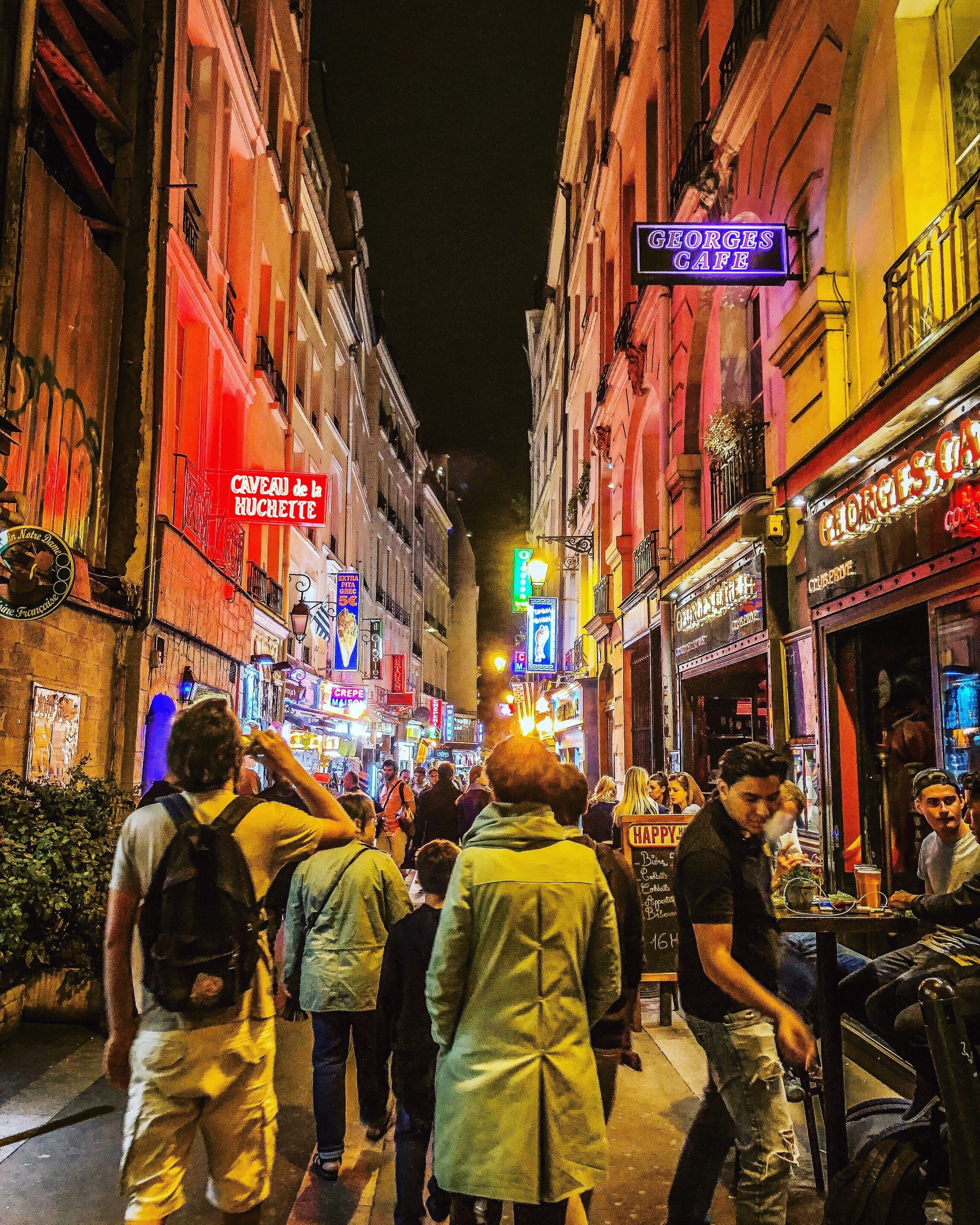 Paris night walking tour