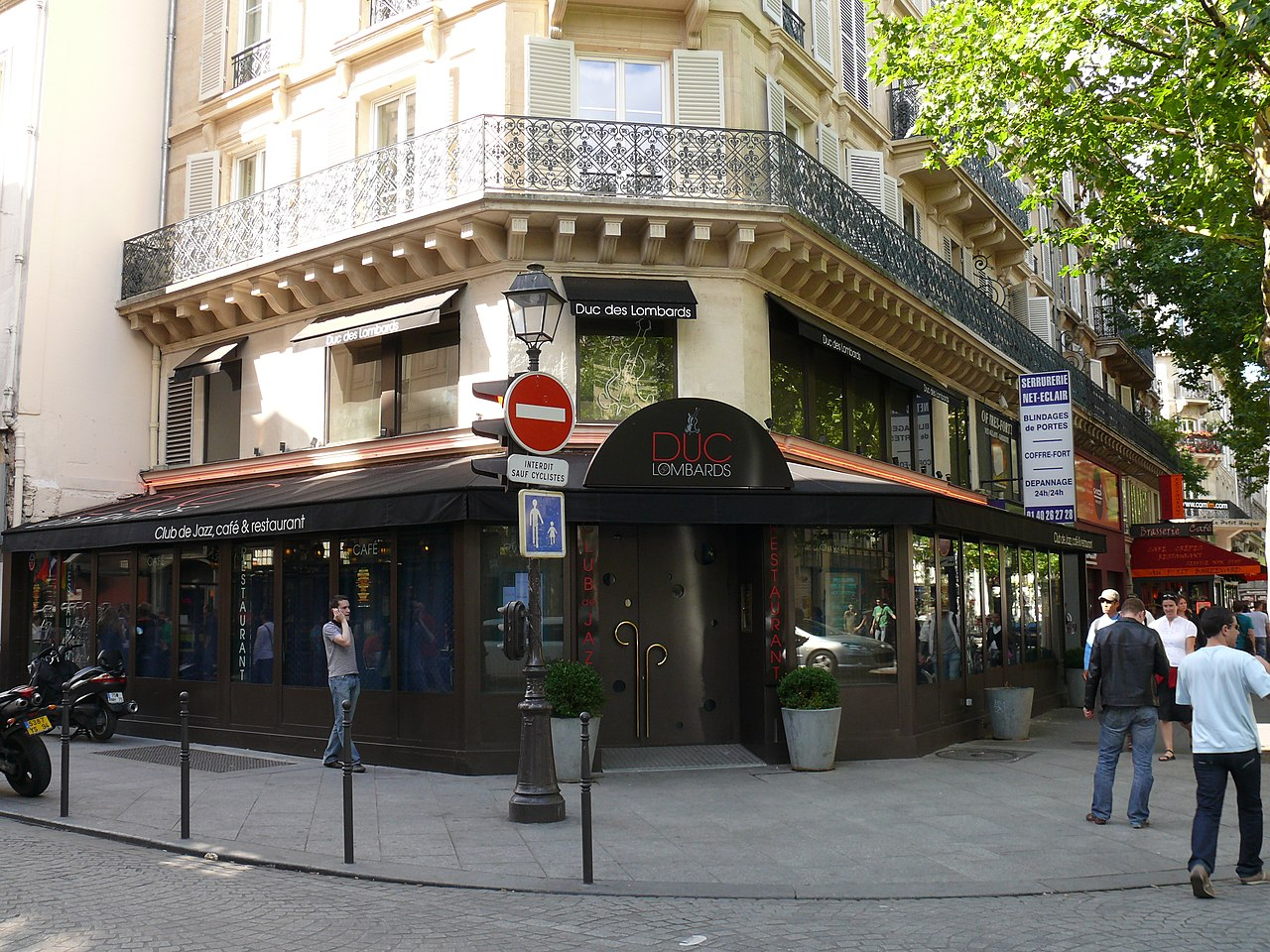 The best Jazz bars Paris