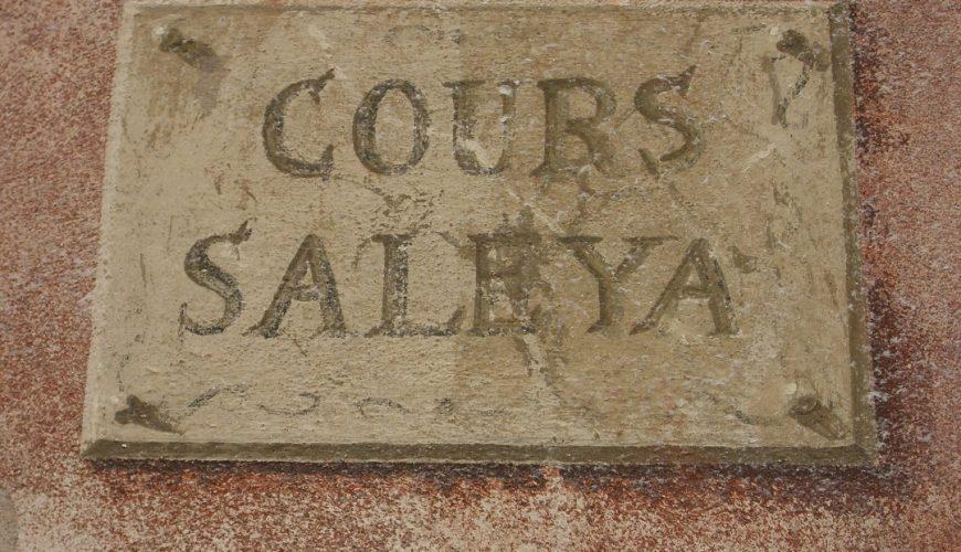 Que signifie Cours Saleya ?