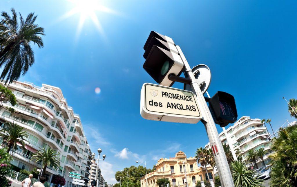 Was ist die Promenade Des Anglais french-riviera