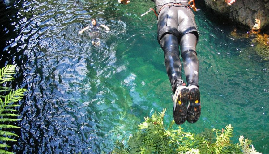 Canyoning in Nizza