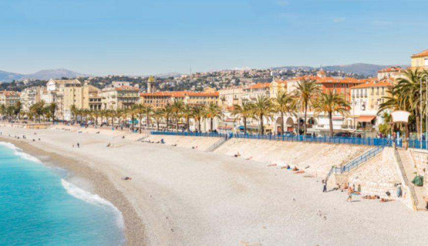 beste Strände in Nizza Frankreich