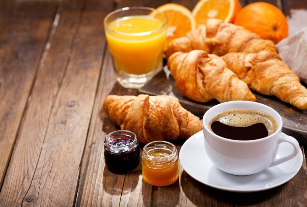 happy birthday to you on the french Riviera breakfast