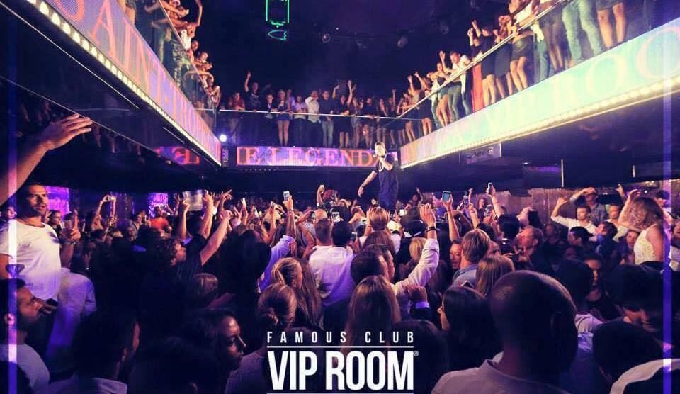 happy birthday to you on th French Riviera vip room saint tropez