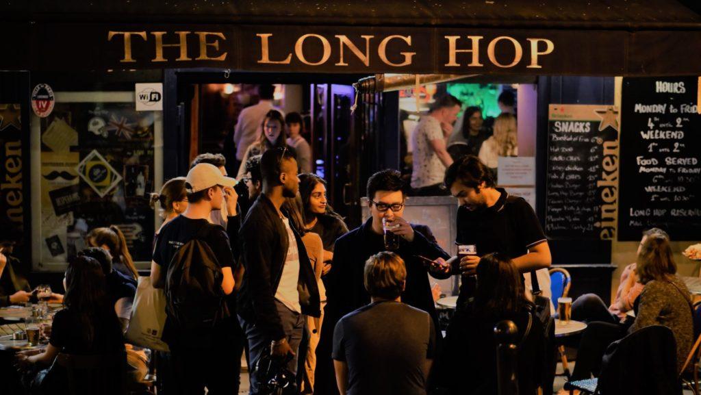 how is paris nightlife the long hop