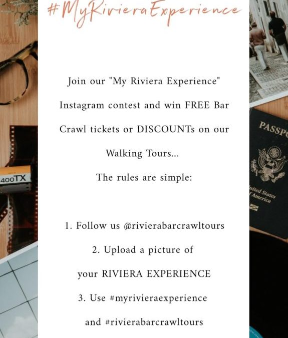#MyRivieraExperience – Join our Instagram Photo Contest