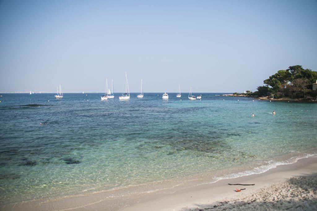 nice france for students la garoupe beach
