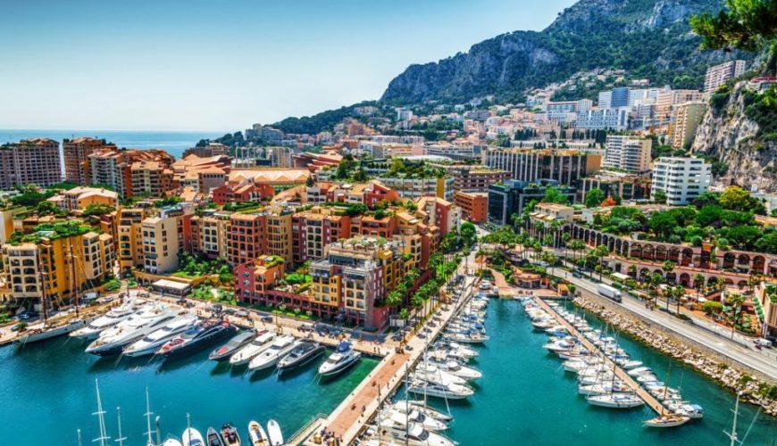 Из Ниццы в Монако порт