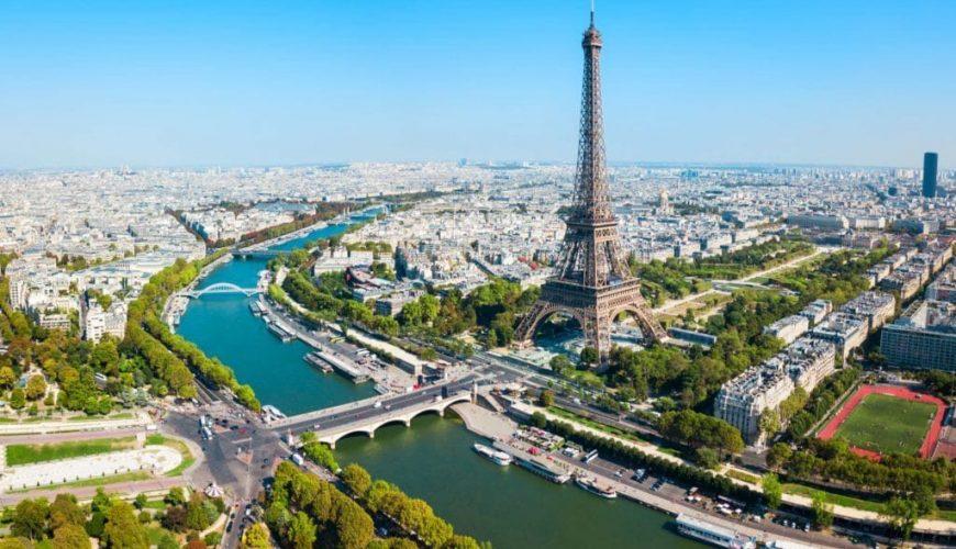 Visite de Paris tour eiffel