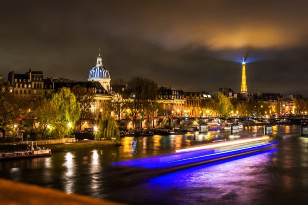 paris night cruise without dinner