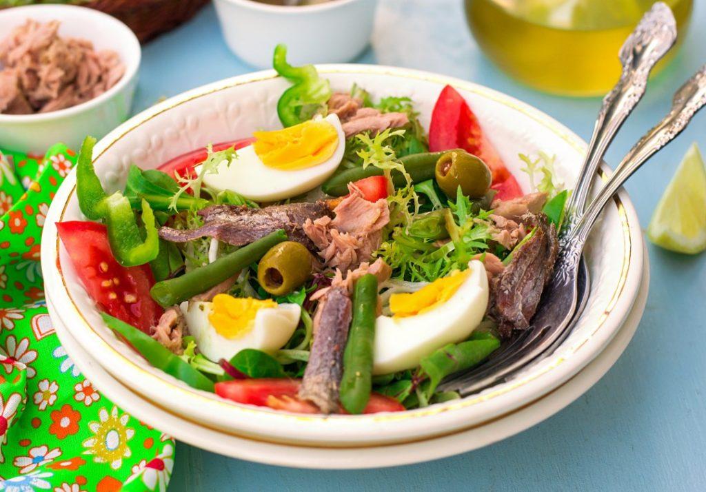que faire à nice salade nicoise