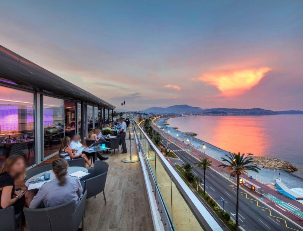 the best bars with a view in nice