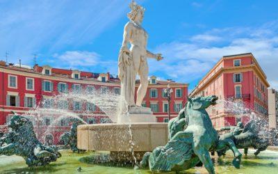Apollo Statue Nice France