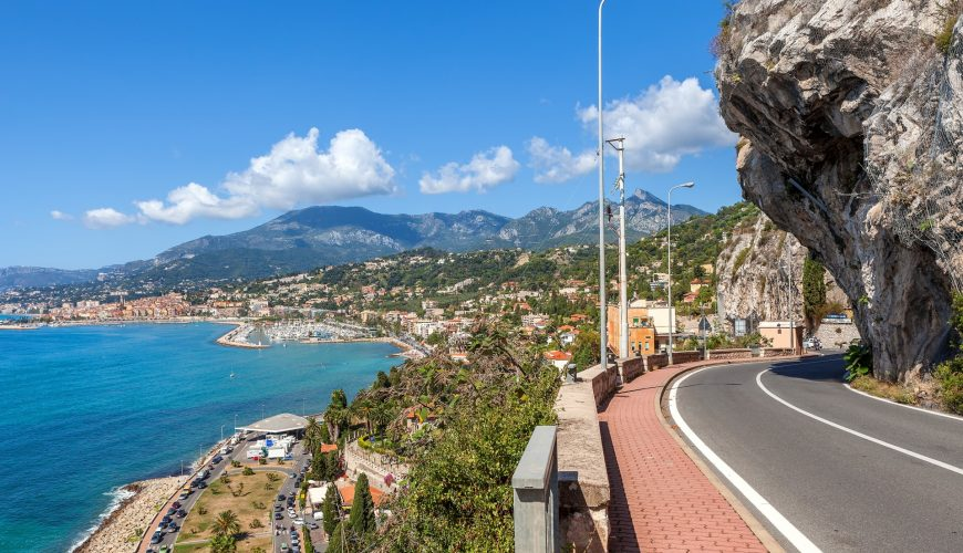 how to get from nice to italy
