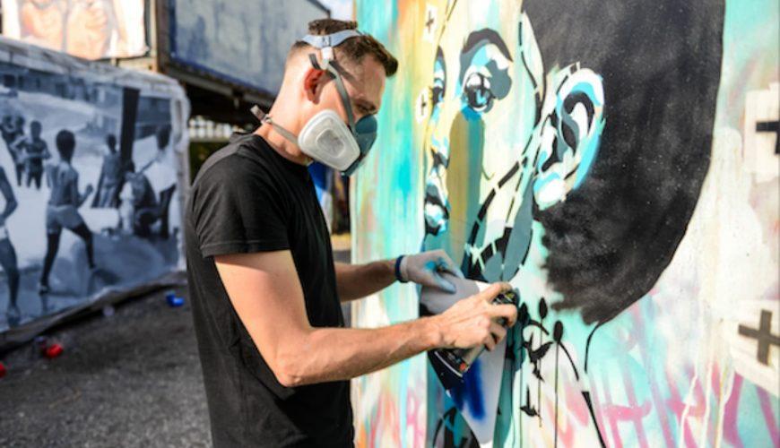 Straßenkunst Tour Nizza