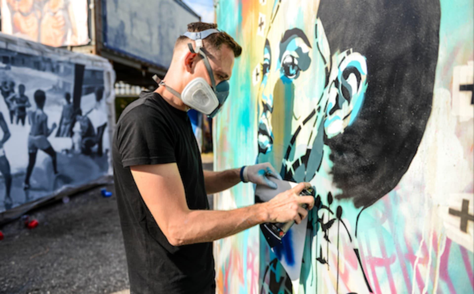 street art tour nice