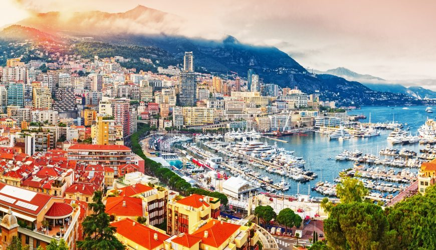 Wo liegt Monaco