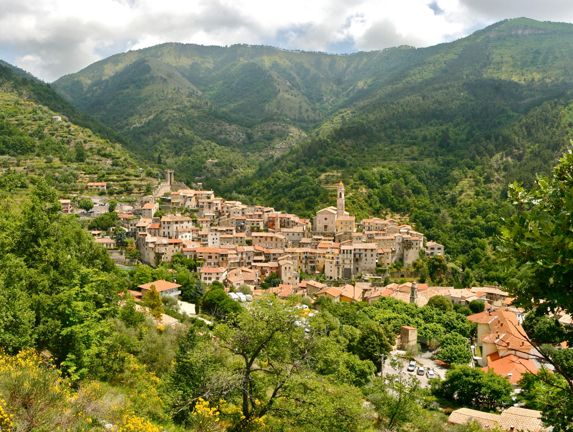 best villages french riviera
