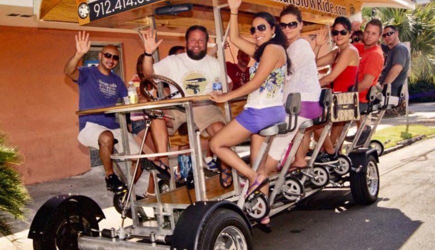 tour in bici della riviera francese per bar