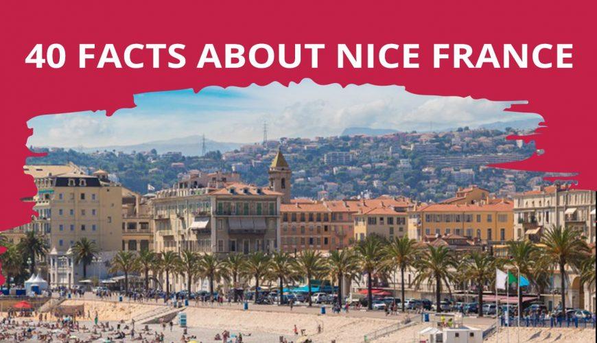 40 Fakten über Nizza