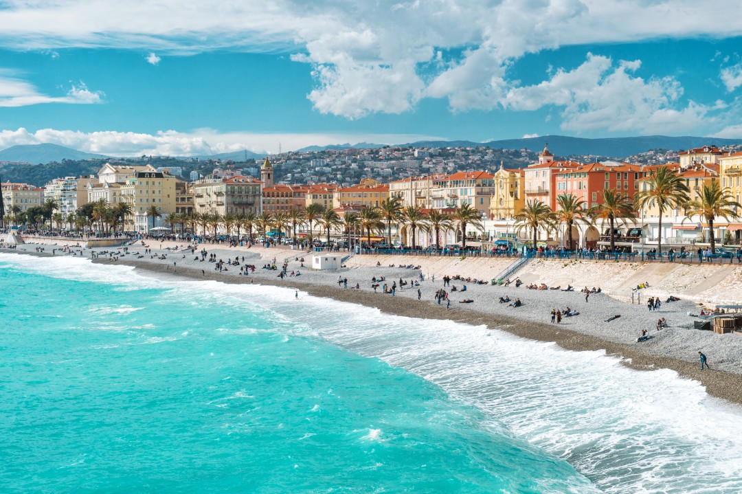 how was the french riviera developed