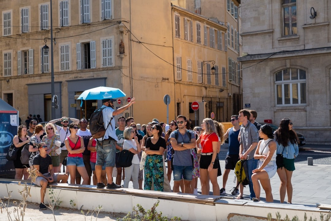free walking tour france