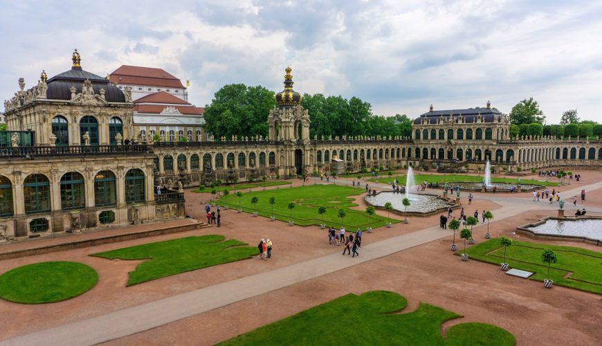 dresden walking tour