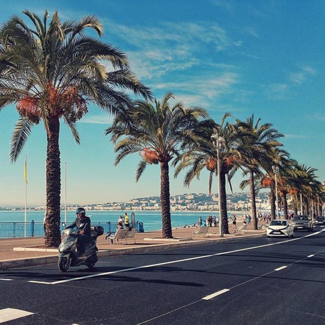 Promenade de Anglais Nice France