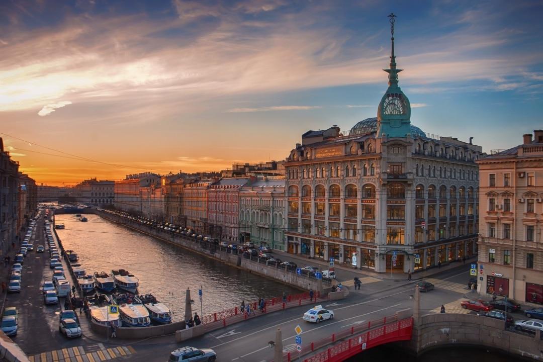 Saint Petersburg Walking Tour