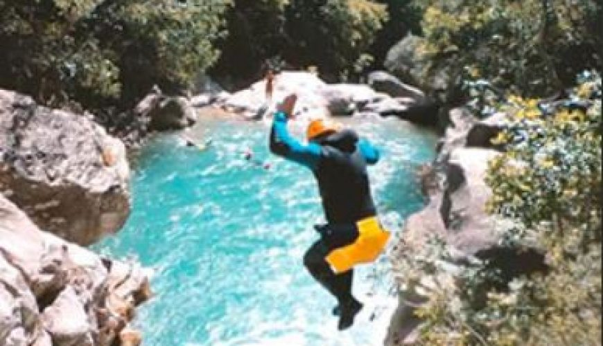Canyoning in Nice