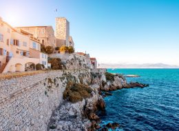 walking tour antibes
