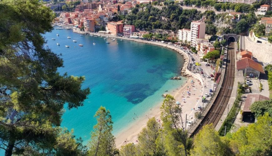 best private beach french riviera
