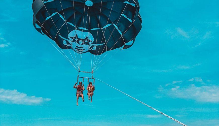 parasailing nice france