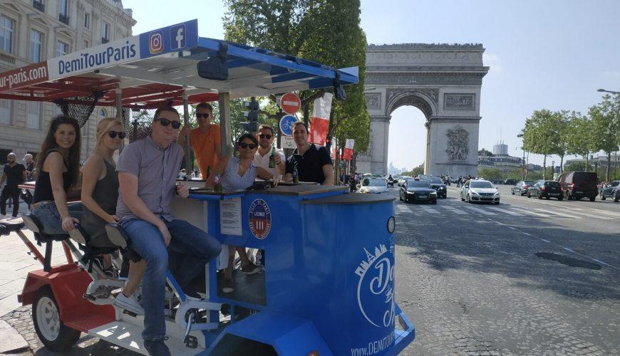 paris beer bike